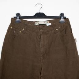 pantalon marron vintage