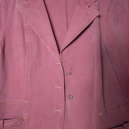 Veste coton vieux rose