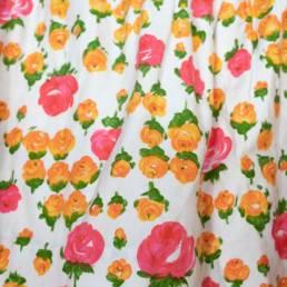 jupe fleurs vintage
