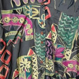 Chemise à motifs longue