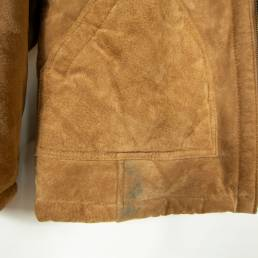 veste hiver marron