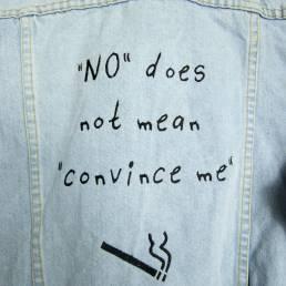 veste no does not mean convince me