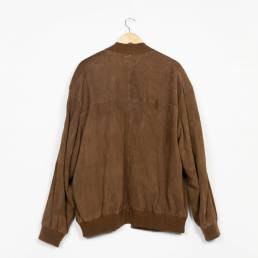 Veste daim marron taille L/XL