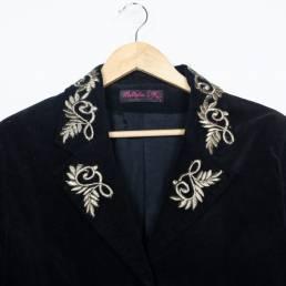 Veste noire vintage