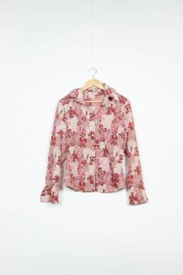 Chemise à fleurs vintage
